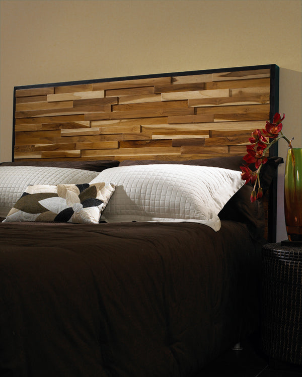 Reclaimed Wood Headboard - Padma's Plantation