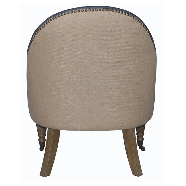RIVIERA OCCASIONAL CHAIR - ECO-LEATHER