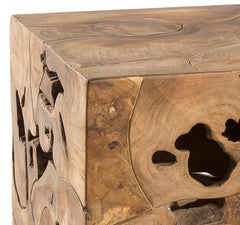 TEAK ROOT END TABLE - Padma's Plantation
