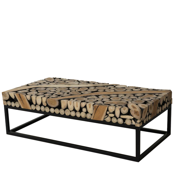 SAFARI RECTANGULAR COFFEE TABLE - Padma's Plantation