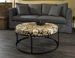 SAFARI ROUND COFFEE TABLE - Padma's Plantation