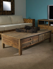 Salvaged Wood Coffee Table - Padma's Plantation