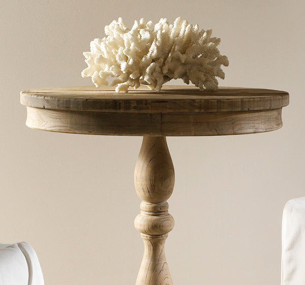 Salvaged Wood Side Table - Padma's Plantation