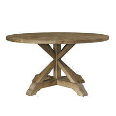 "Salvaged Wood 60"" Round Dining Table"