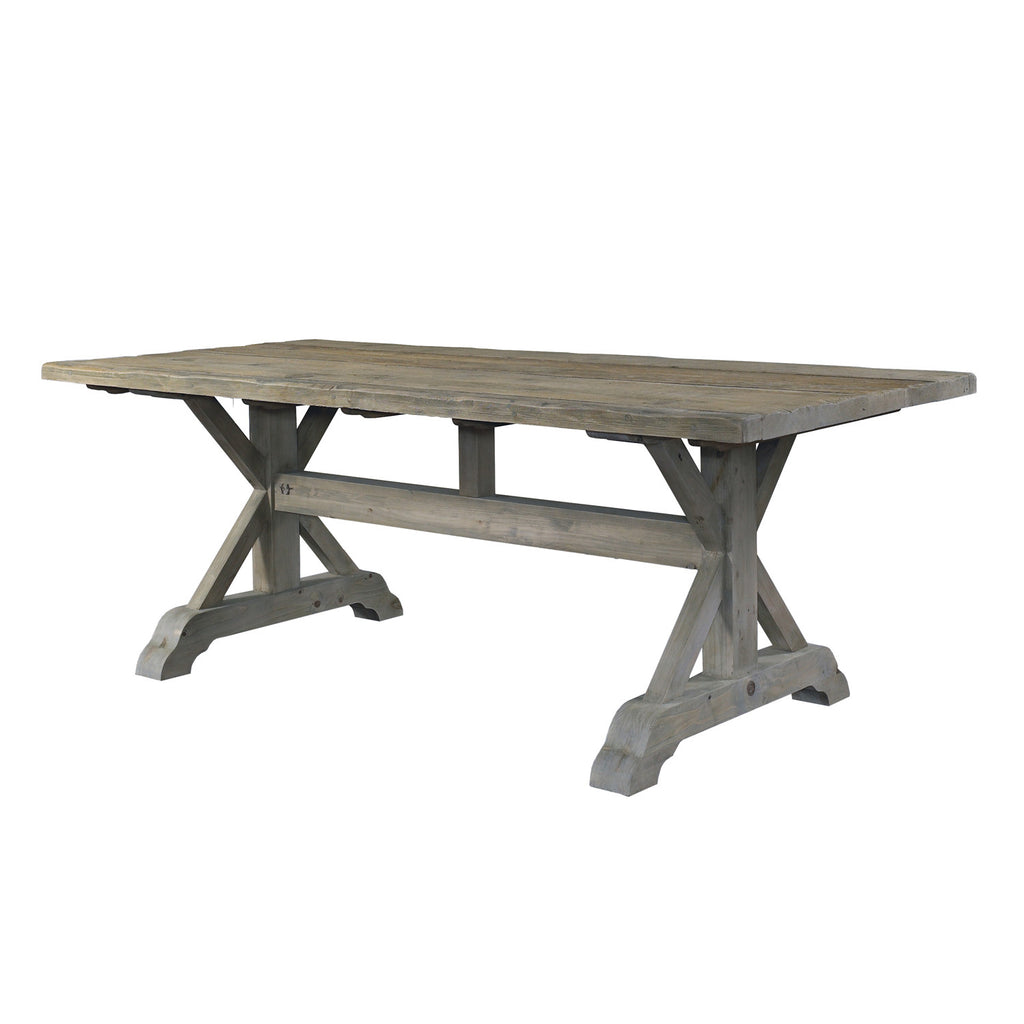 Salvaged Wood Dining Table   84