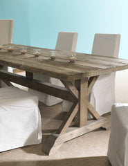 "Salvaged Wood Dining Table - 96"" - Padma's Plantation"