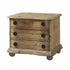 Salvaged Wood End Table with Drawers - Padma's Plantation