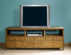 Salvaged Wood Tv Console
