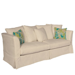 SUNSET BEACH SOFA - SUNBRELLA CANVAS FLAX