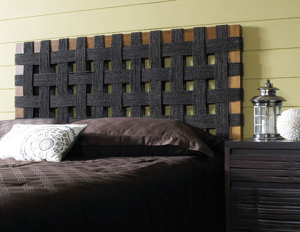 Seagrass Open Weave Headboard