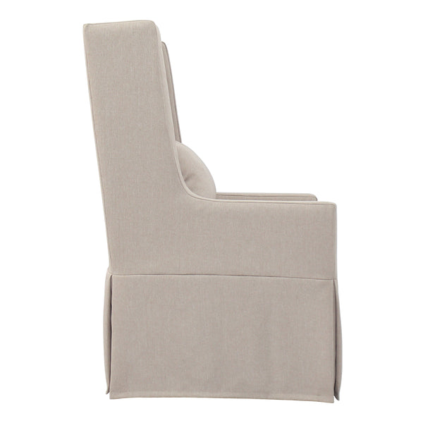 SLIPCOVER SANDSPUR BEACH SWIVEL LOUNGE CHAIR - BRUSHED LINEN