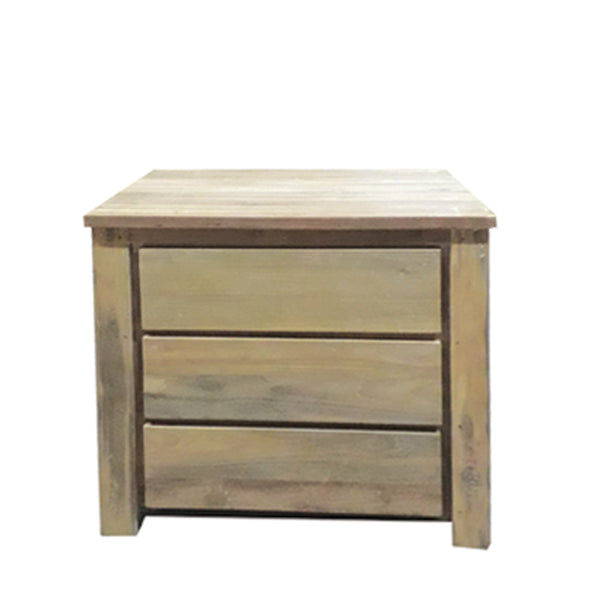 STOCKHOLM RECLAIMED TEAK END TABLE - Padma's Plantation