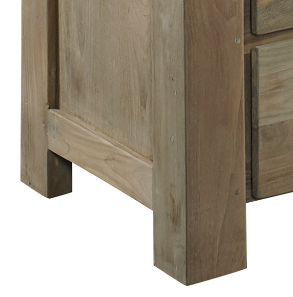 STOCKHOLM RECLAIMED TEAK CHEST OF DRAWERS - Padma's Plantation
