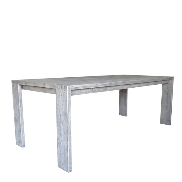 RALPH RECLAIMED TEAK OUTDOOR DINING TABLE - 84""