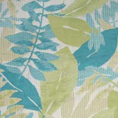 5 YARDS OF OUTDOOR FABRIC - DURACORD BRAND - TAHITI #101042 COLOR - OCEAN