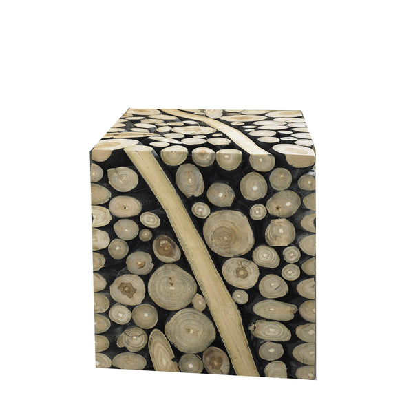 SAFARI SIDE TABLE / STOOL - Padma's Plantation
