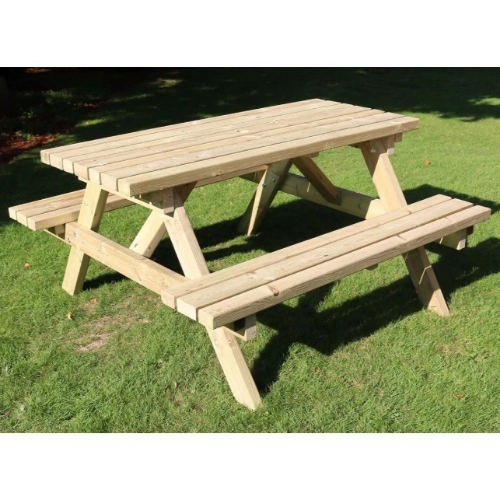 Churnet Valley Deluxe 6 Seater Picnic Table