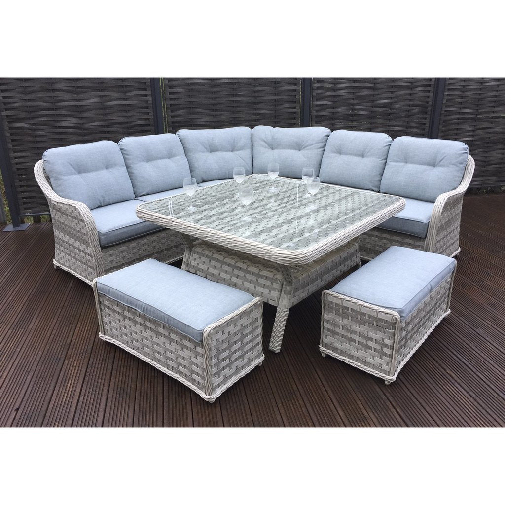 Signature Weave Constance Large Corner Dining Set