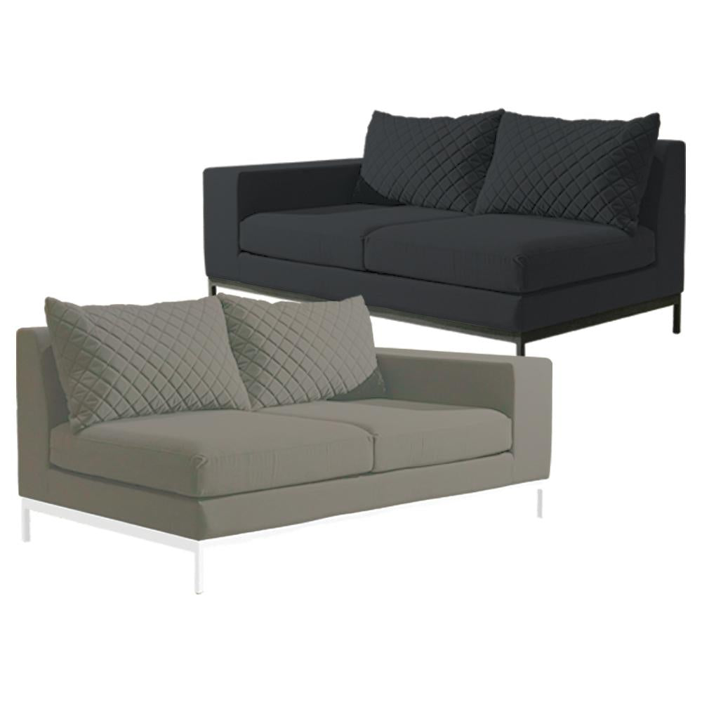 Westminster Arctic Two Seater Sofa Right End