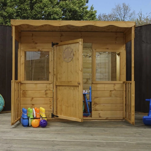 Mercia Pent Style Playhouse - GardenPromos