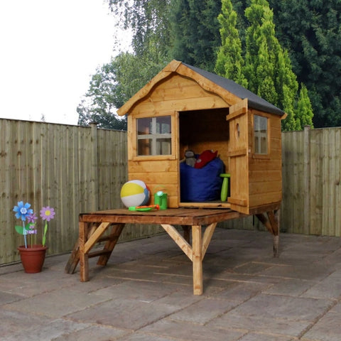 Mercia Snug Playhouse & Tower - GardenPromos