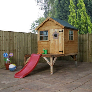 Mercia Snug Playhouse & Tower & Slide