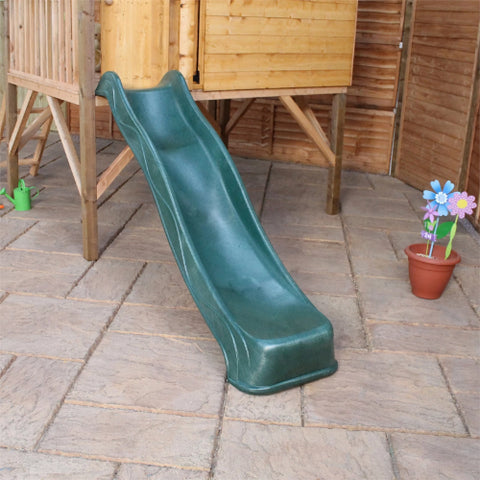 Image of Mercia Rose Tower Playhouse & Slide - GardenPromos