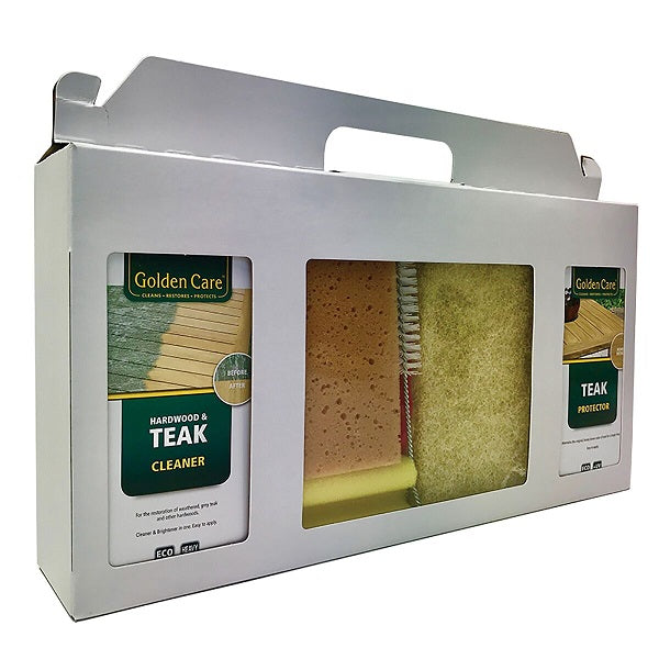 Westminster Teak Cleaner, Restorer and Protector Kit - GardenPromos