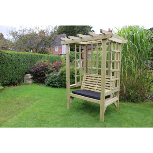Churnet Valley Beatrice 2 Seater Arbour - GardenPromos
