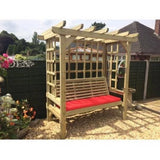 Churnet Valley Beatrice 3 Seater Arbour - GardenPromos
