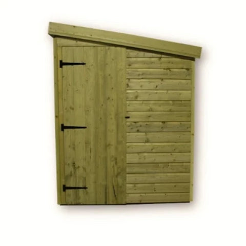 Empire Sheds Large Size Pressure Treated Pent Garden Storage - GardenPromos