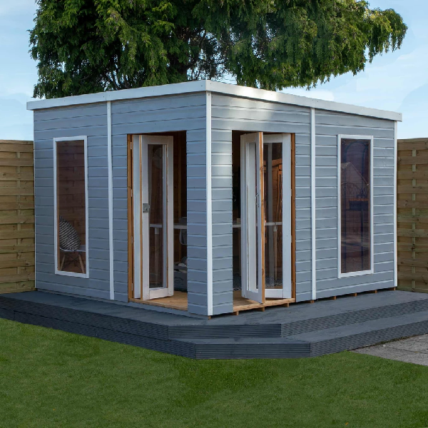 Mercia 10x10 - Premium Pool House Garden Room - GardenPromos