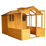 Mercia 10x6 - Traditional Apex Greenhouse Combi Shed - GardenPromos