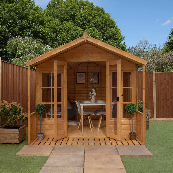 Mercia 12x8 - Traditional Summerhouse - GardenPromos