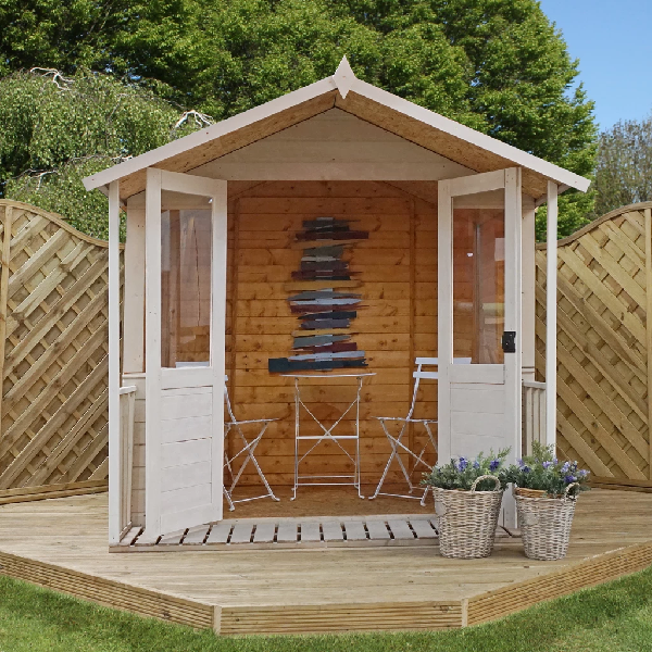 Mercia 7x7 - Traditional Summerhouse - GardenPromos