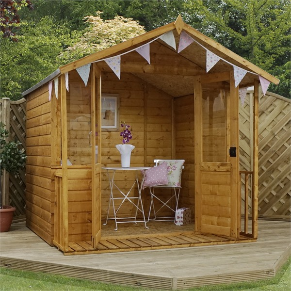 Mercia 7x8 - Traditional Summerhouse - GardenPromos