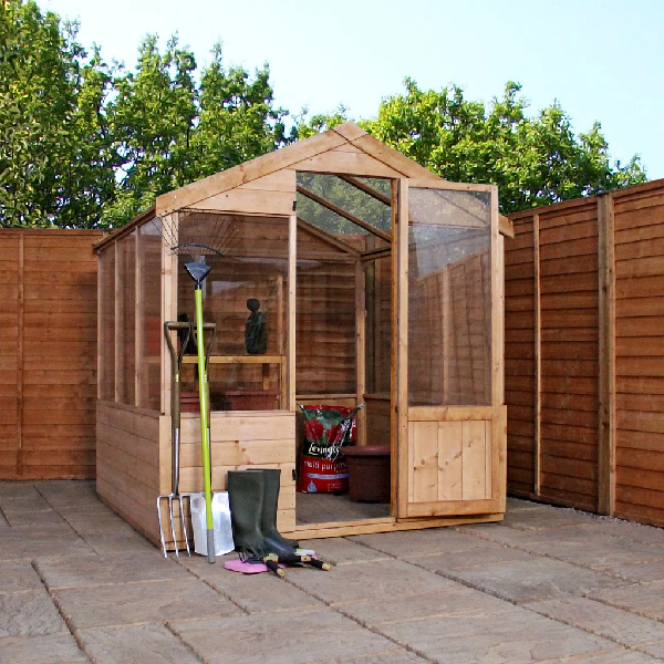 Mercia 8x6 - Traditional Greenhouse - GardenPromos