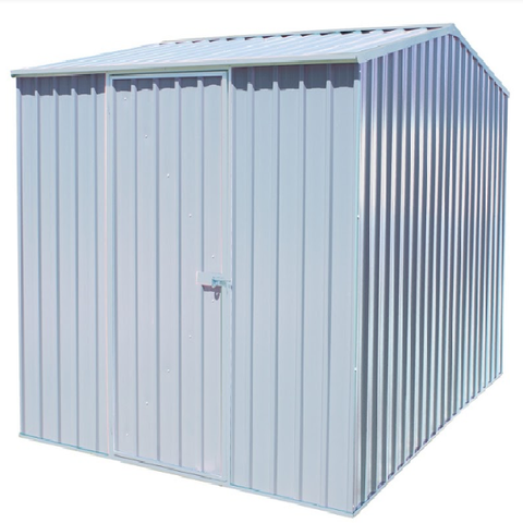 Mercia Absco Premier Titanium 7ft 5in x 9ft 10in Metal Shed - GardenPromos