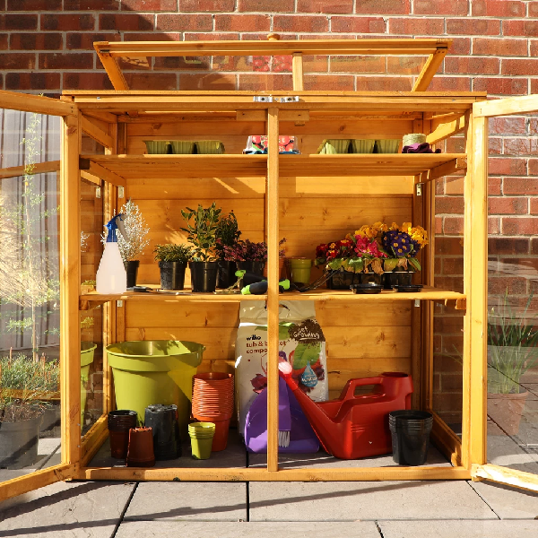 Mercia Mini Greenhouse - GardenPromos