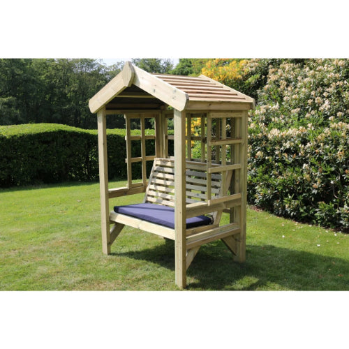 Churnet Valley Cottage 2 Seater Trellis Arbour - GardenPromos