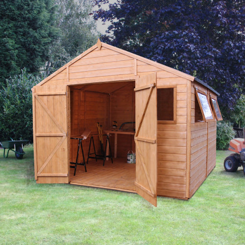 Mercia 10x10 - Premium Apex Shiplap T&G Workshop - GardenPromos