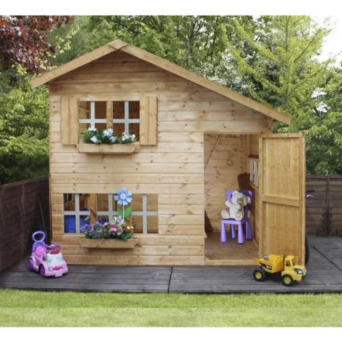 Mercia Double Storey Bramble Playhouse - GardenPromos