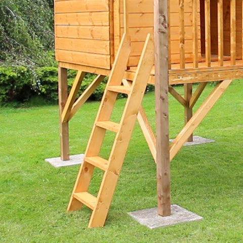 Image of Mercia Poppy Playhouse with Tower - GardenPromos
