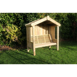 Churnet Valley Cottage 3 Seater Arbour - GardenPromos