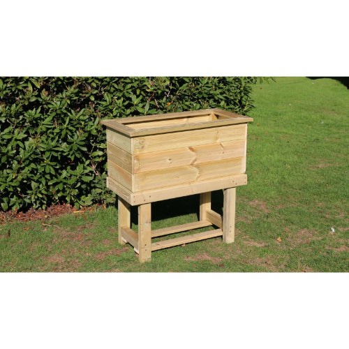 Churnet Valley Raised Trough Planter - GardenPromos