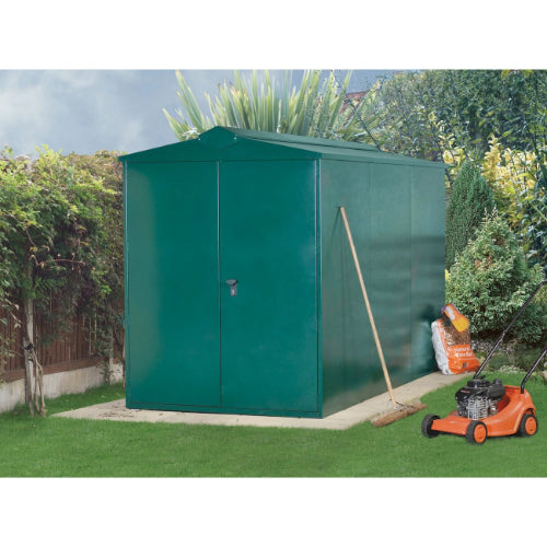 Asgard Centurion P1 Metal Shed - Police Approved - GardenPromos