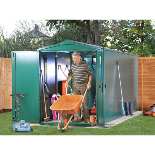 Asgard Centurion P2 Metal Shed - Police Approved - GardenPromos