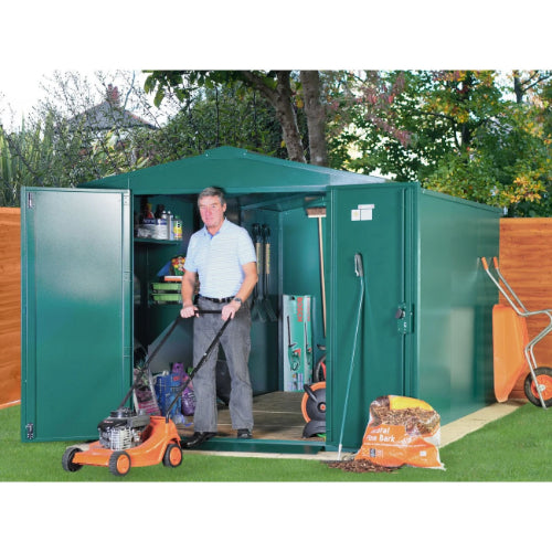 Asgard Gladiator P2 Shed Police Approved - GardenPromos
