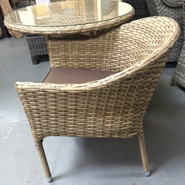 Signature Weave Darcey Stacking Chair - GardenPromos