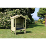 Churnet Valley Cottage 2 Seater Arbour - GardenPromos